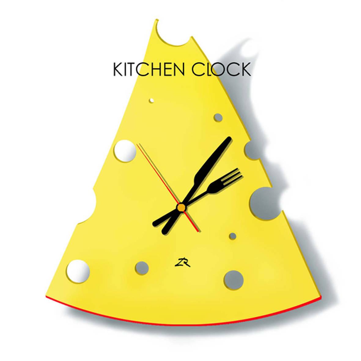 "Часы настенные ""Швейцарское время"". Пластик."