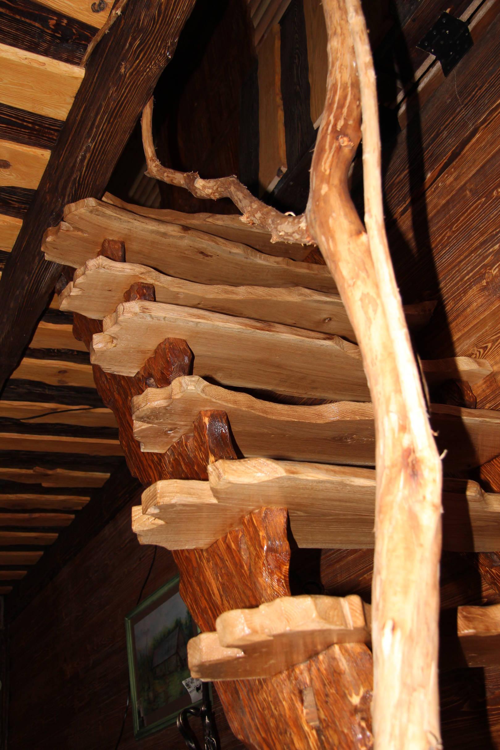 Авторские работы из дерева и металла