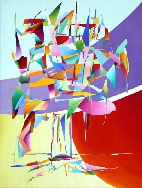 Геометрия  цвета, 80х60, х-м, 2013г.