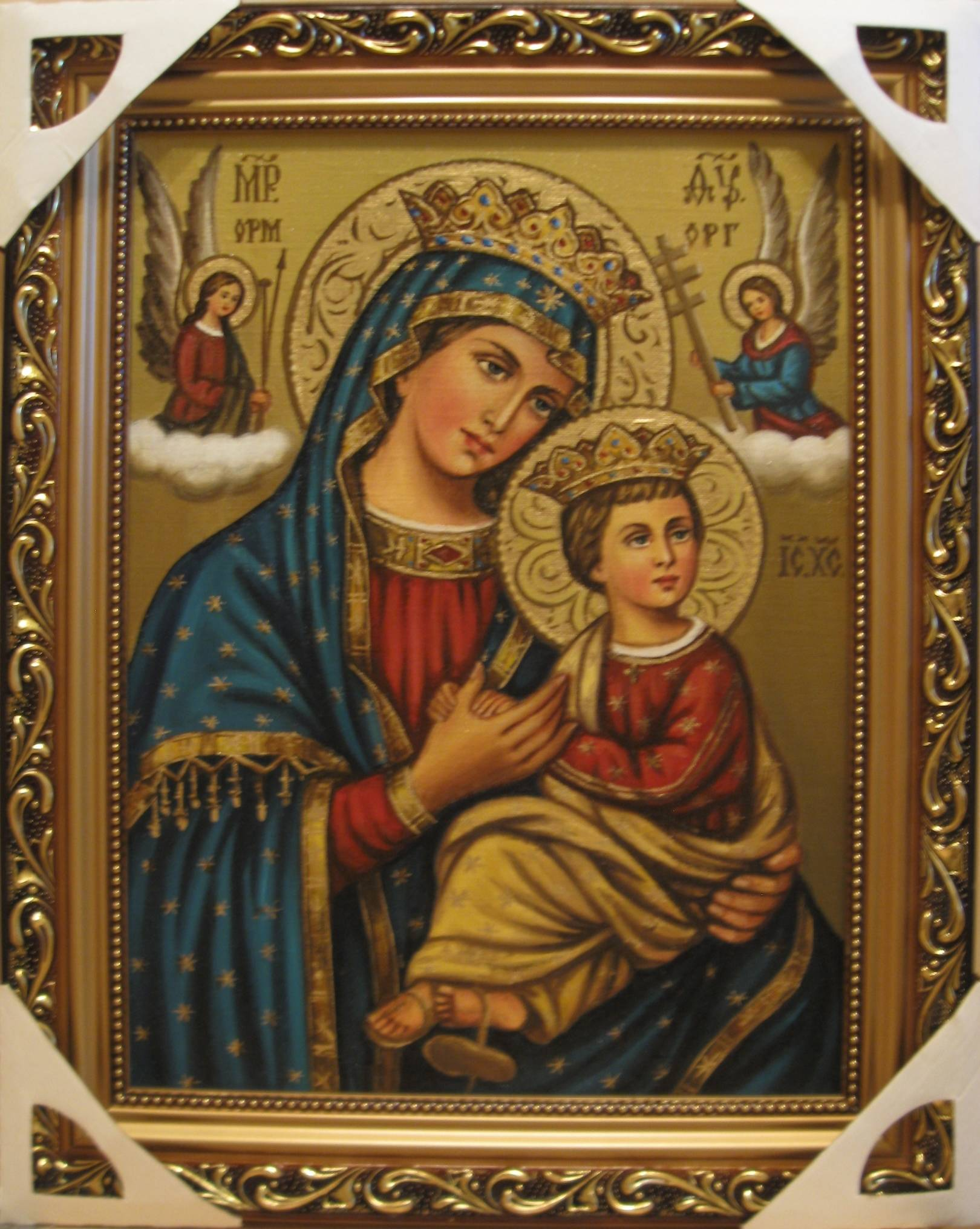 Мои иконы католические