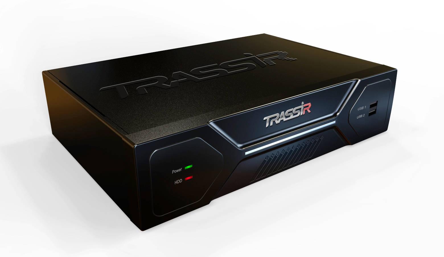 Дизайн корпуса TRASSIR MiniNVR AnyIP 16