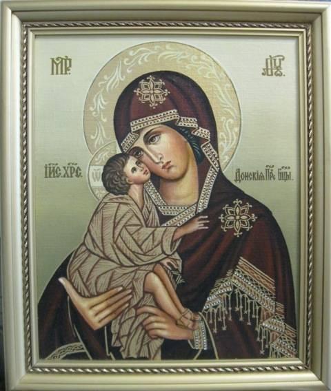 Б.М.Донская (холст,масло)-художник Ядвига Сенько
