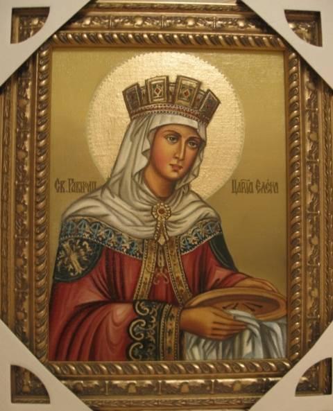 Святая Елена (холст,масло)-художник Ядвига Сенько