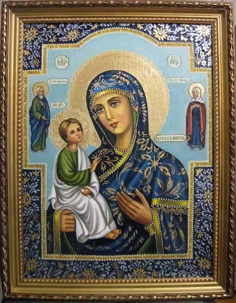 Б.М.Иерусалимская (холст,масло)-художник Ядвига Сенько