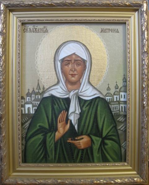 Св.Матрона Московская (холст,масло)