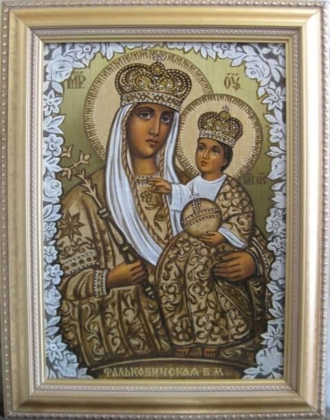 Б.М.Фальковичская (холст,масло)-художник Ядвига Сенько