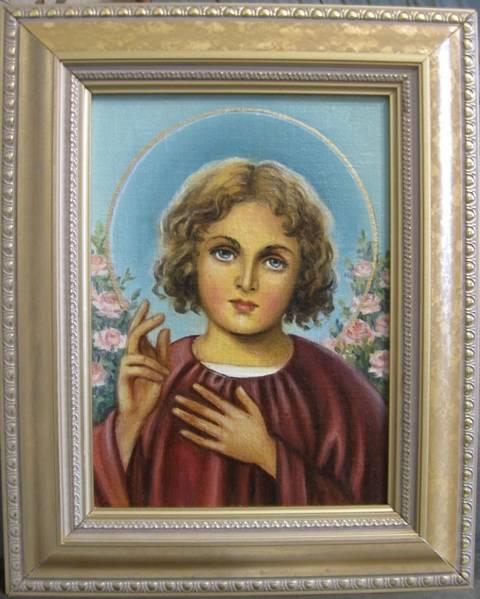 Маленький Иисус (холст,масло)-художник Ядвига Сенько
