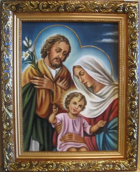 Святое Семейство (холст,масло0-художник Ядвига Сенько