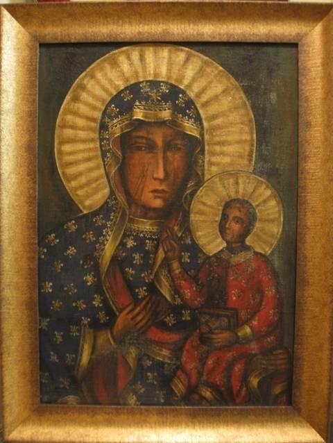 Б.М.Ченстоховская (холст,масло)-художник Ядвига Сенько