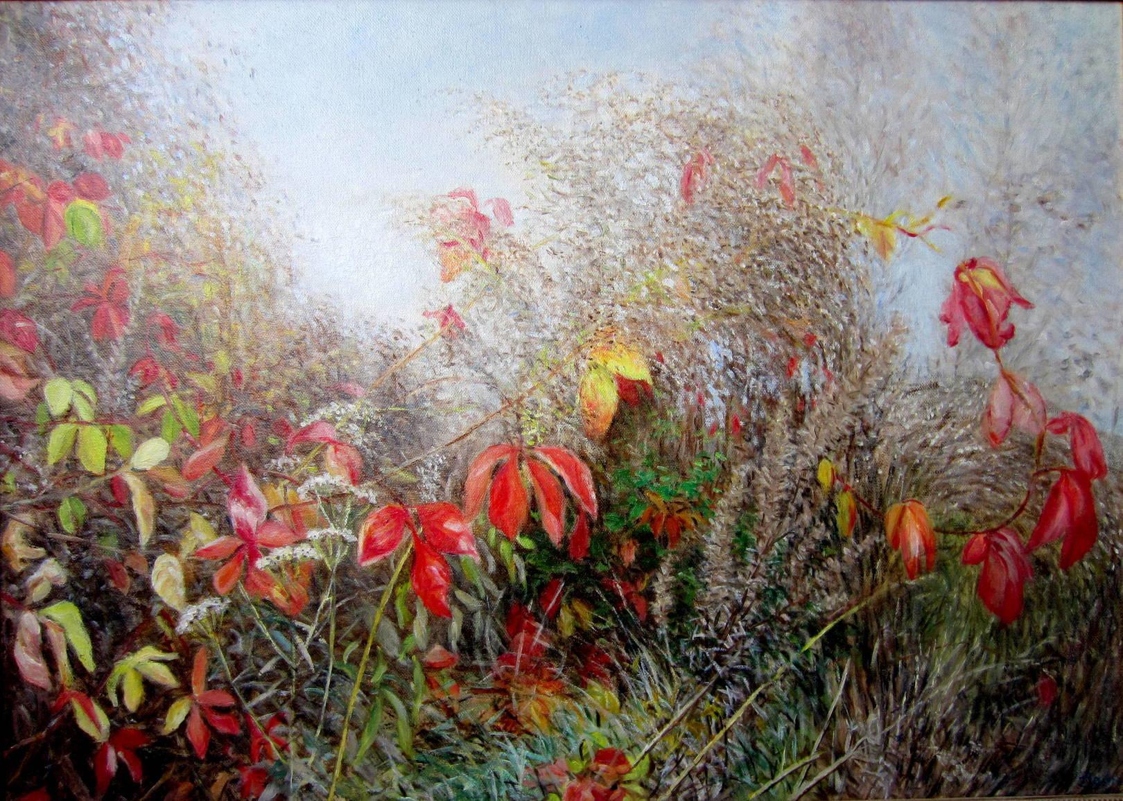 Осенняя мелодия, холст, масло, 50х70