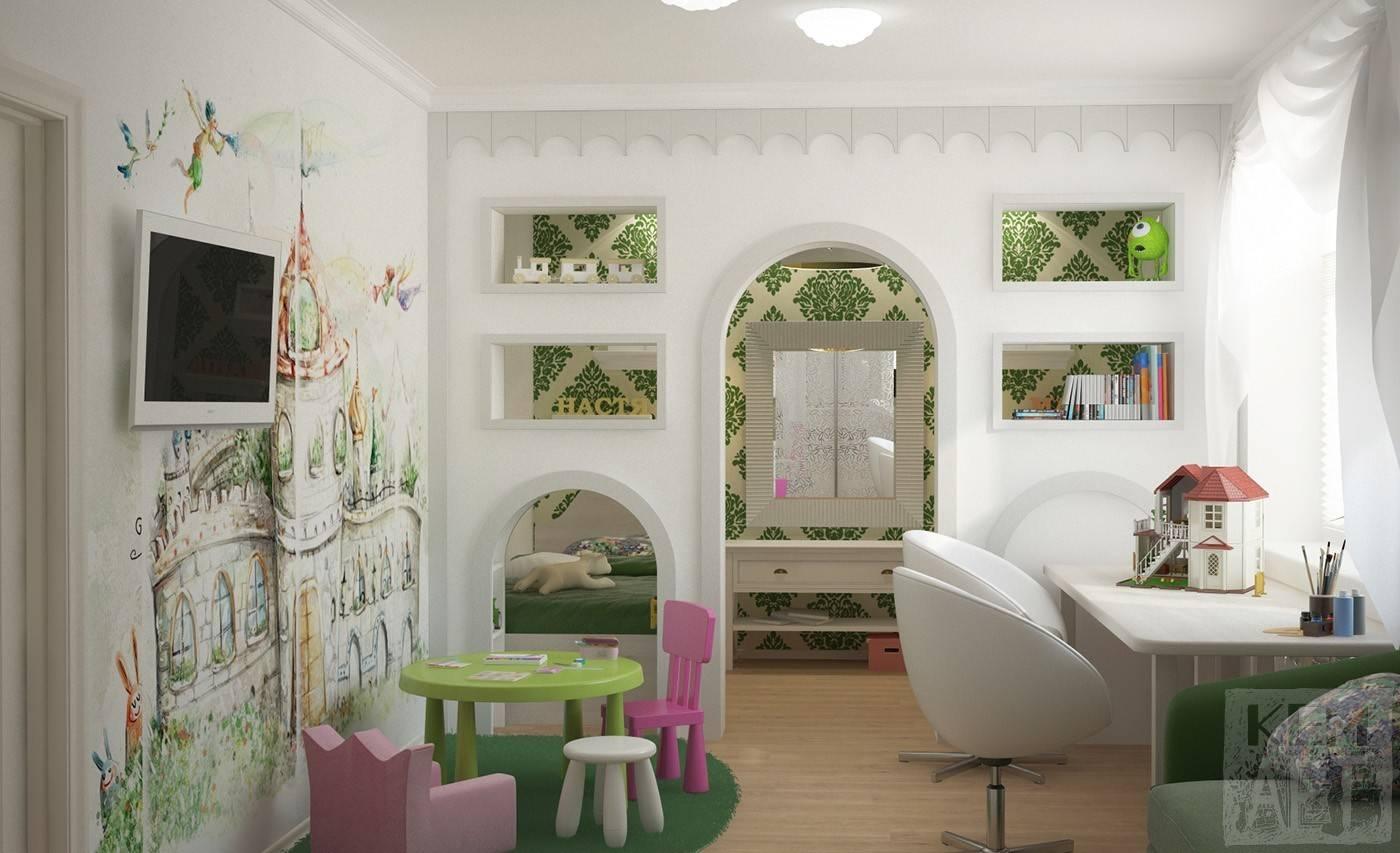 Детские комнаты для девочек