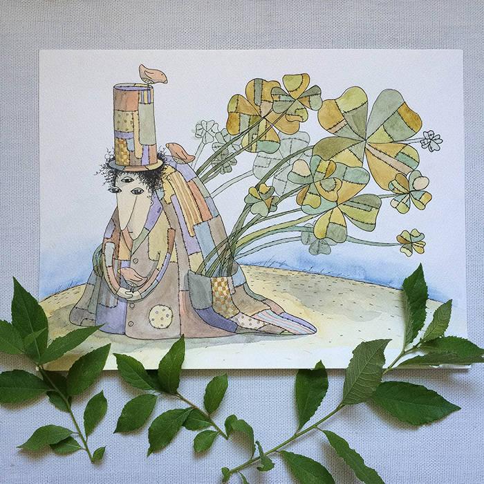 Акварель.Иллюстрации.