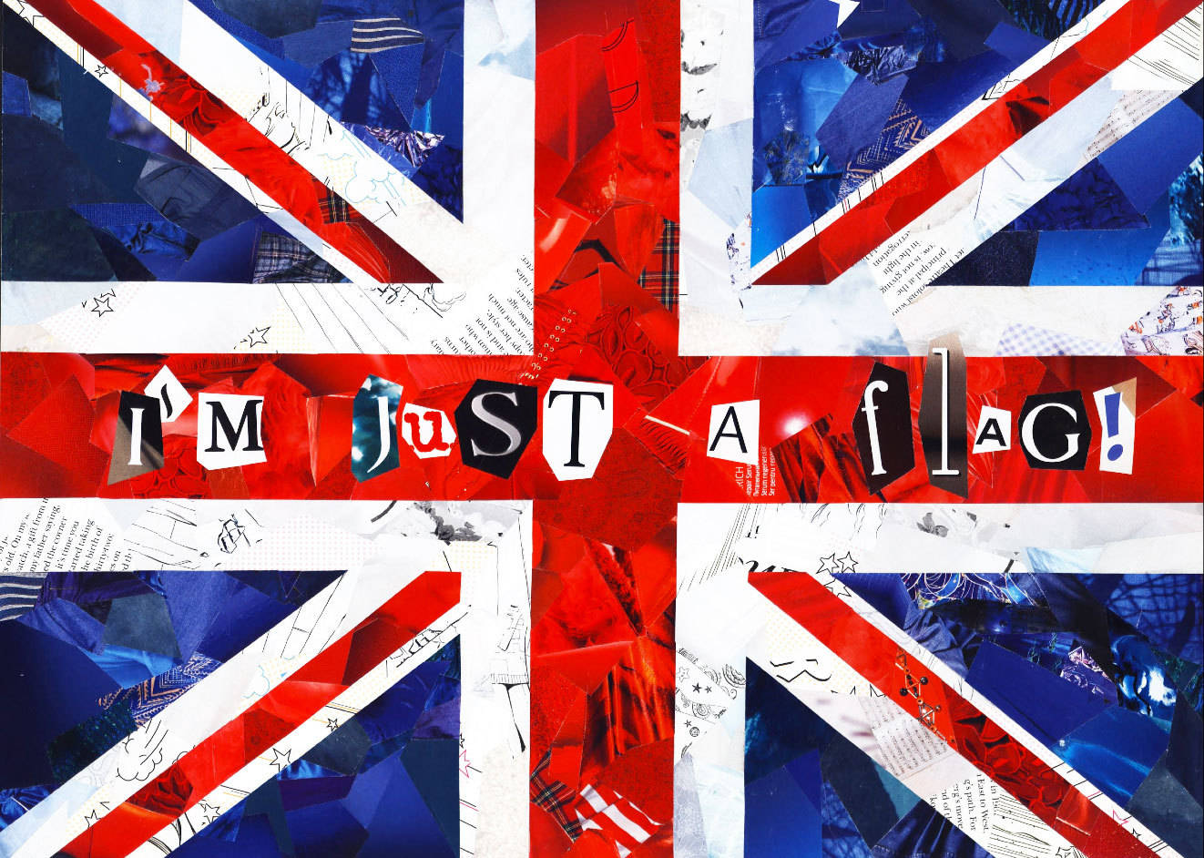 I`m Just a Flag!, collage