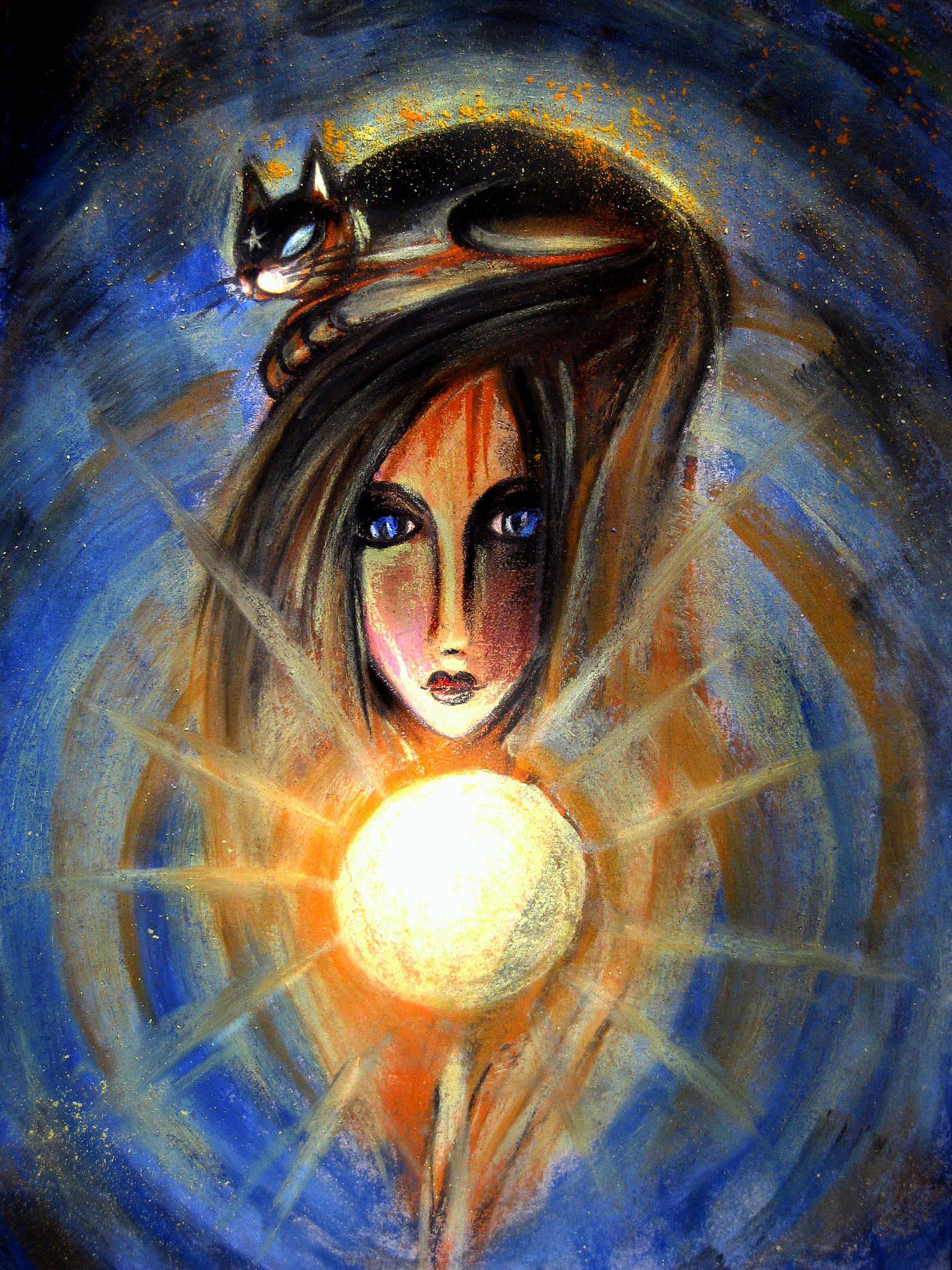 Теплый галактический кот наших мыслей и солнце Души...