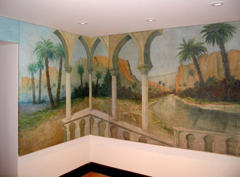 Mural room by Sergey Konstantinov, Art Studio Sergey Konstantinov.