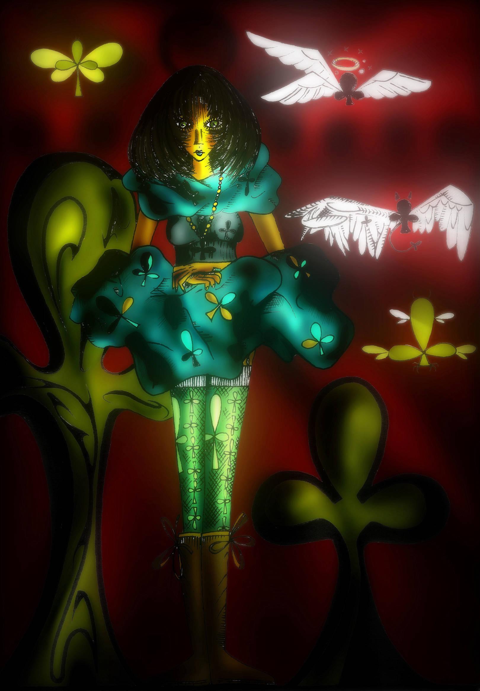 Королева Треф