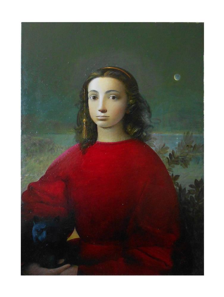 Portrait. Artist Sergey Konstantinov.