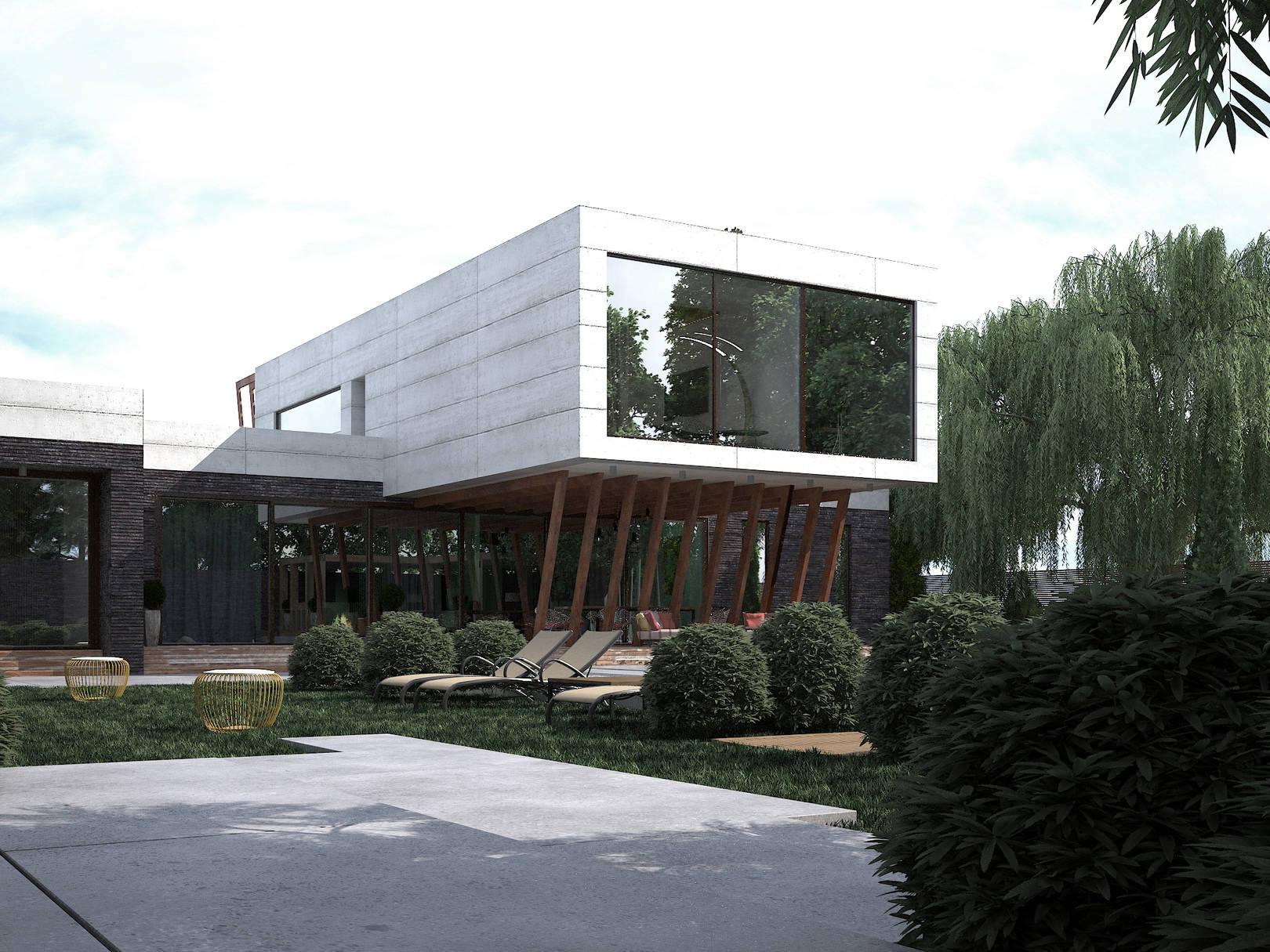 Дом - бетон
