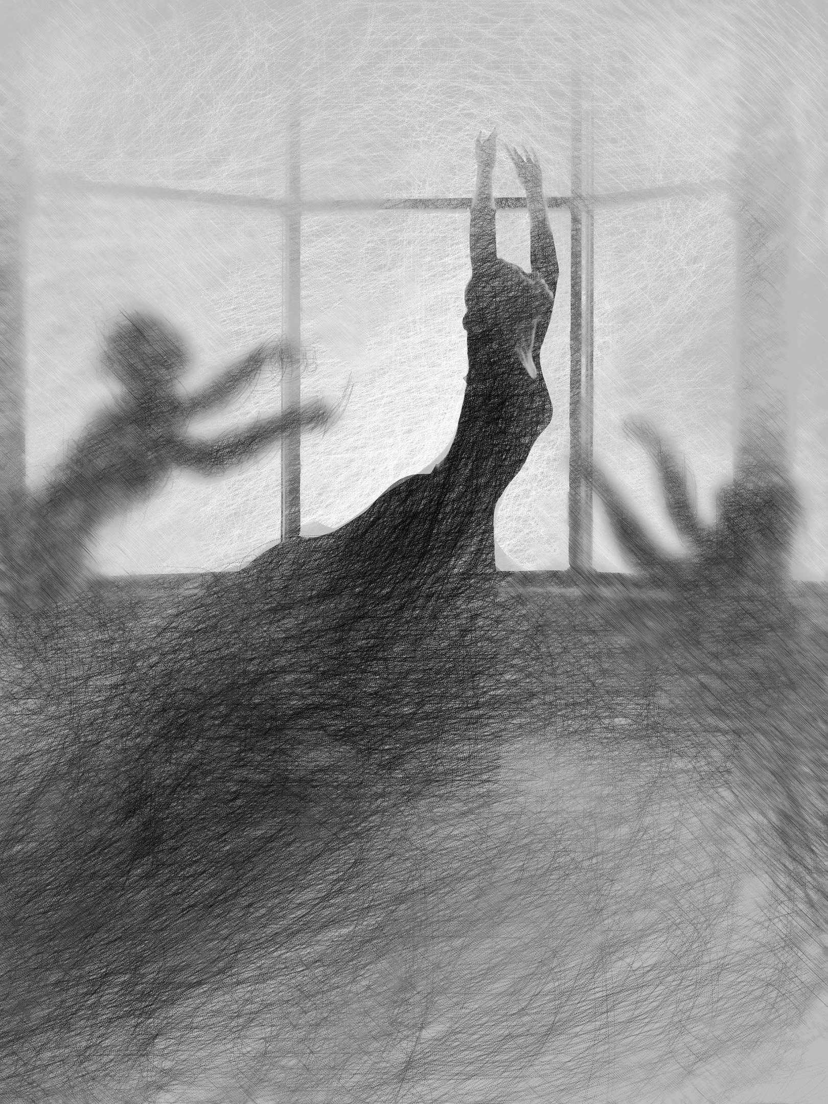 танцующие тени