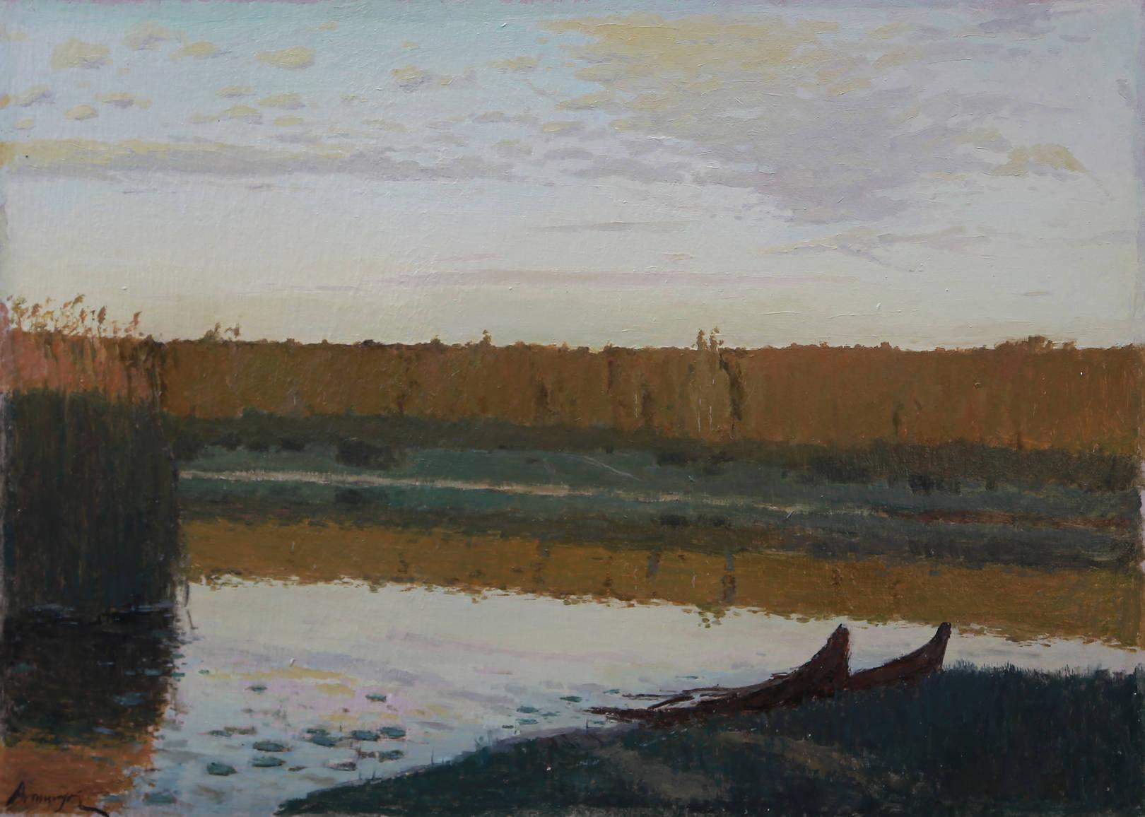 Вечер на реке Ворскле