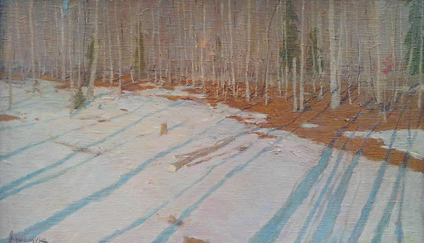 Осиновый лес. Ноябрь
