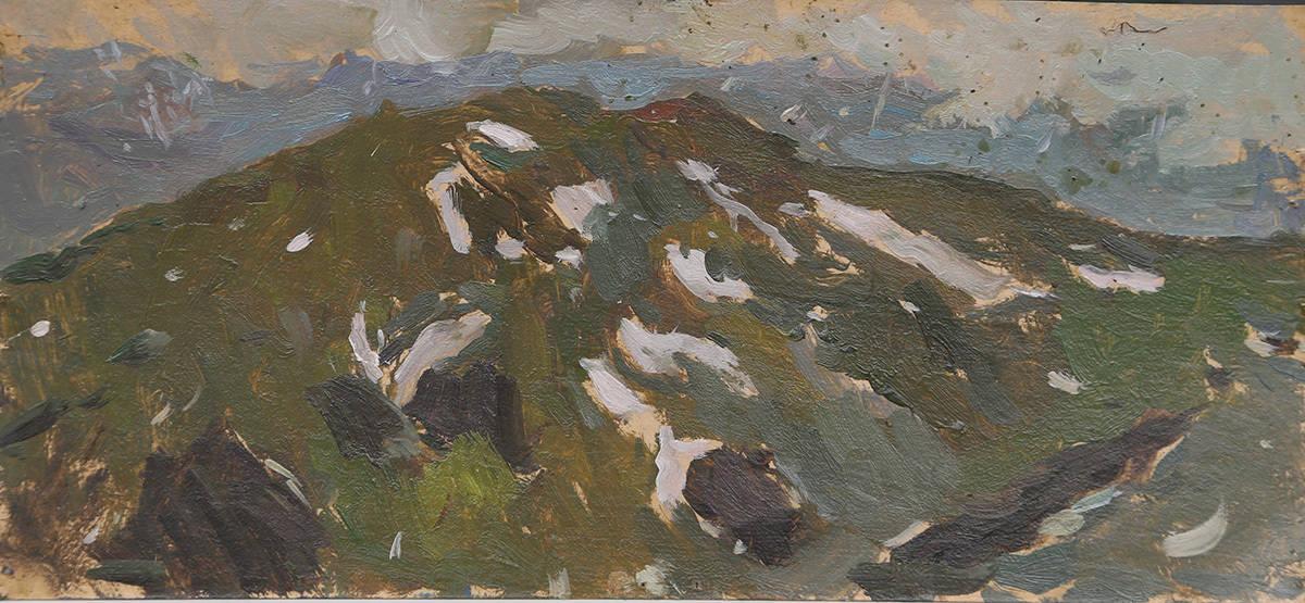 Гора Гузерипль в Июле
