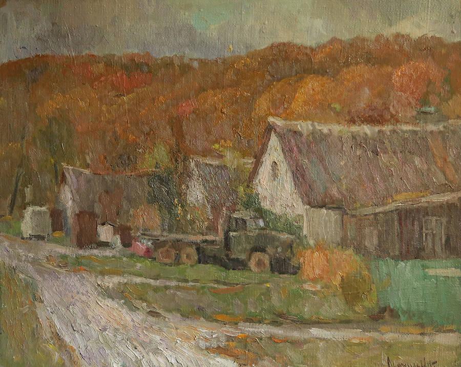 Бронзовая осень в Горячем ключе