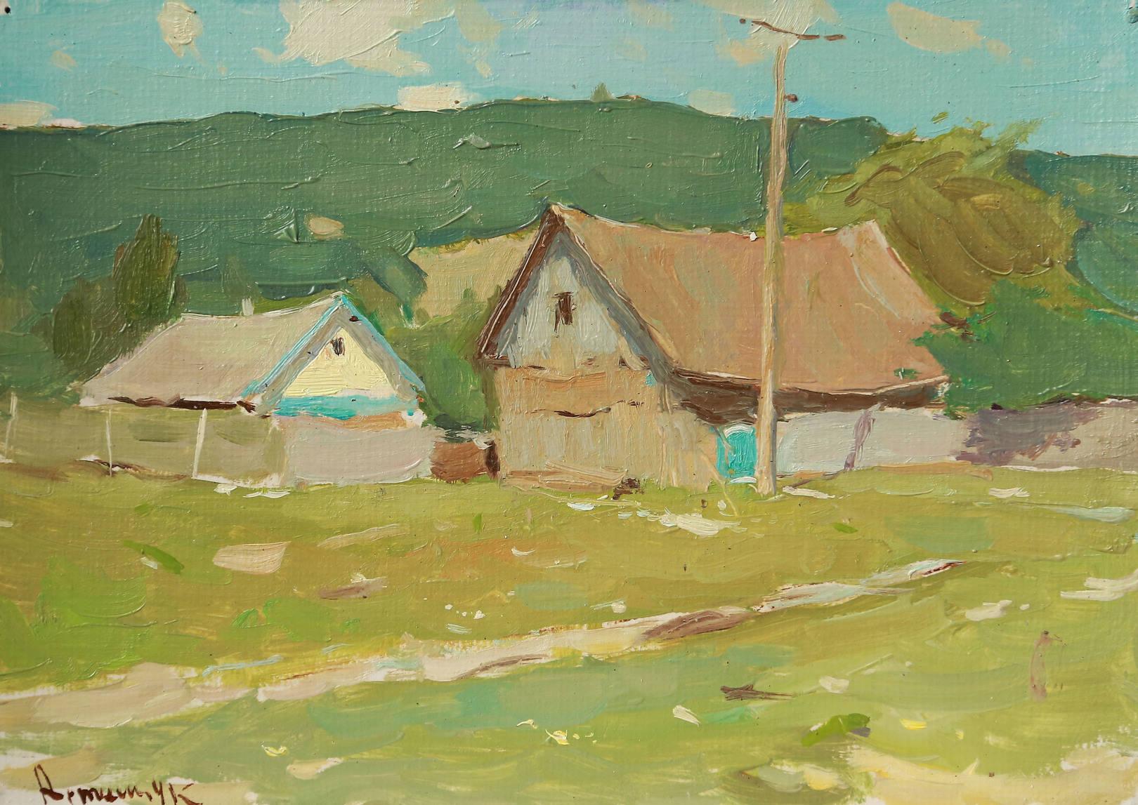 Лизин дом в селе Шабановском