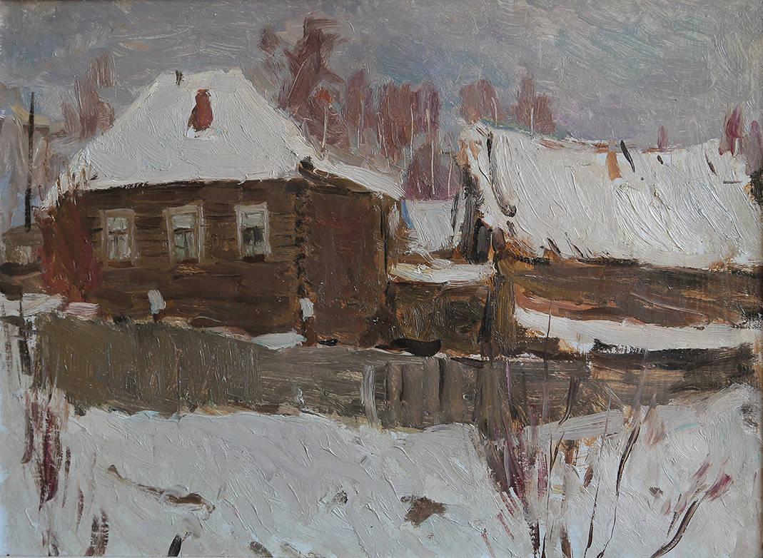 Зима в Североуральске