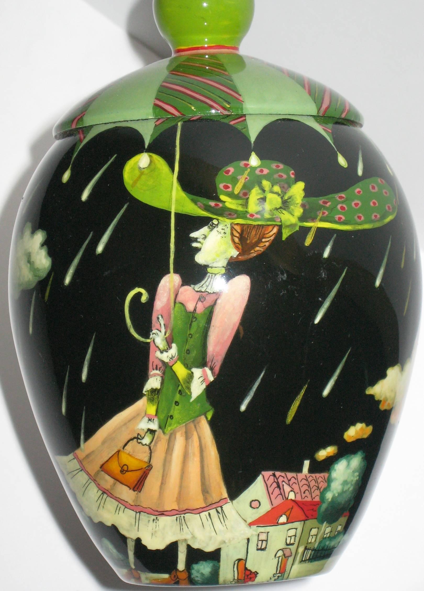 Барышня с зонтом