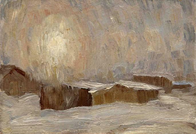 Сахалин, закат