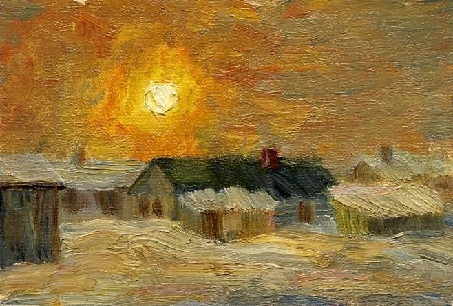 Восход  в  Малиновке
