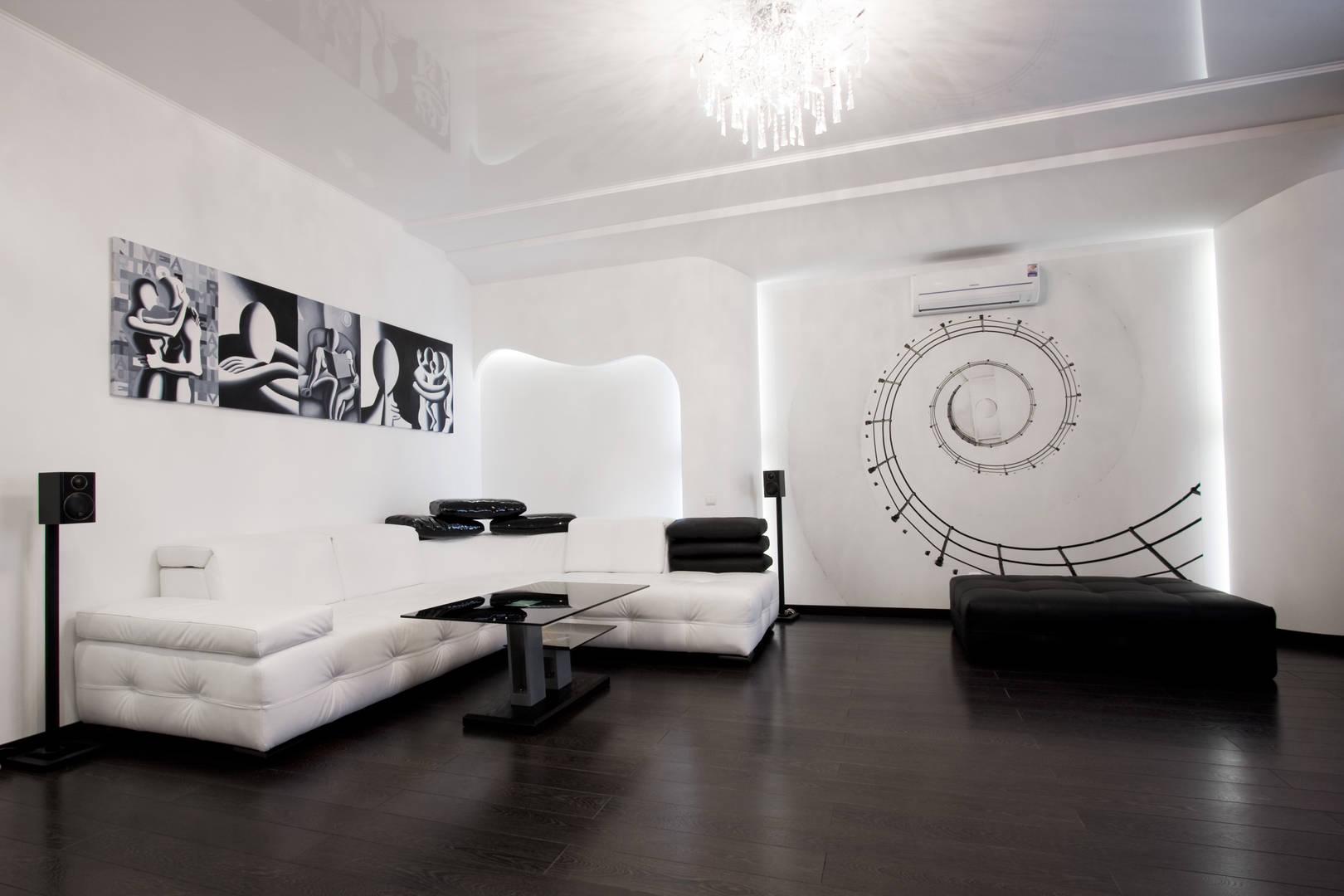 Черное и белое (квартира)