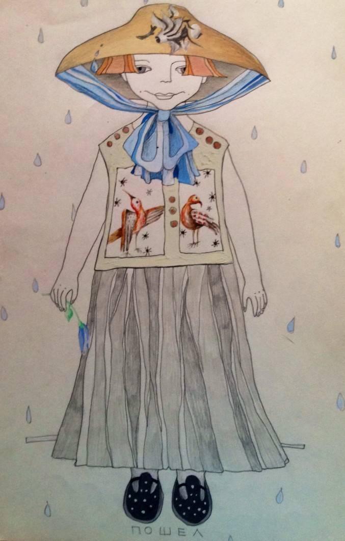 Эскизы детской одежды