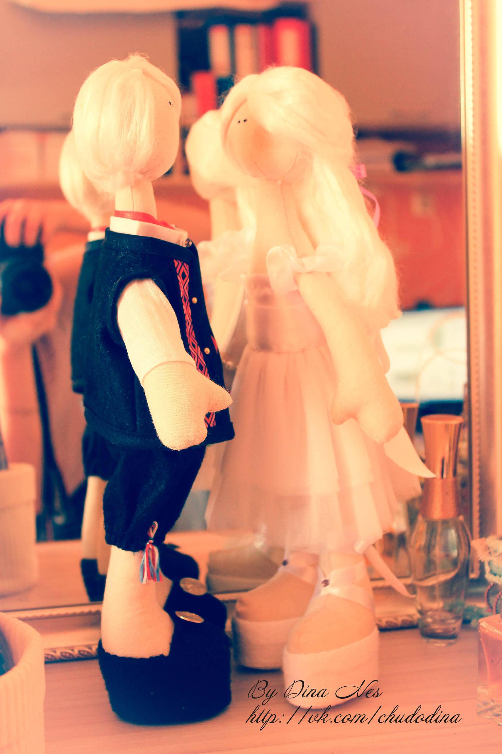 Свадебная парочка