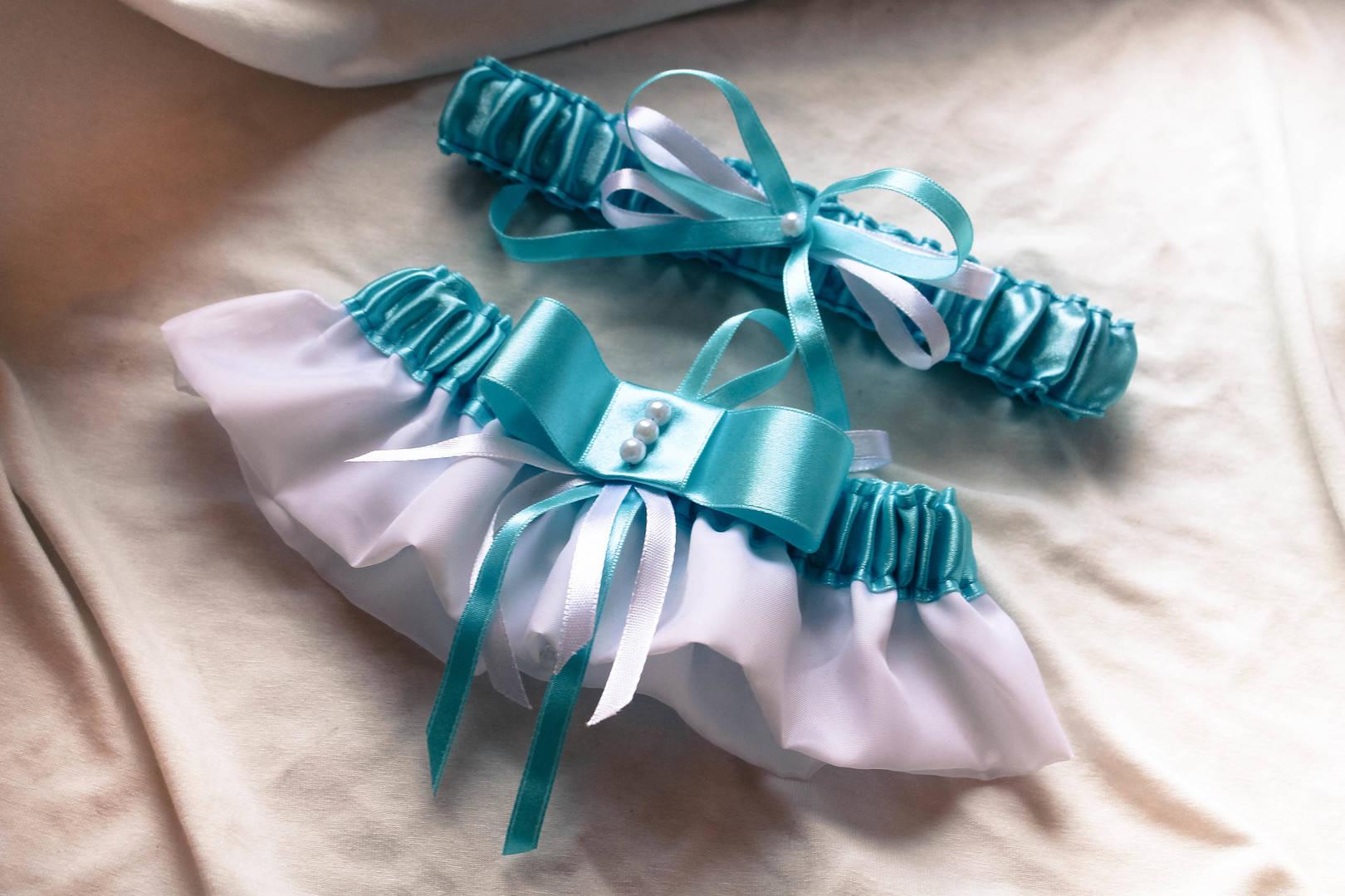 Набор подвязок невесты