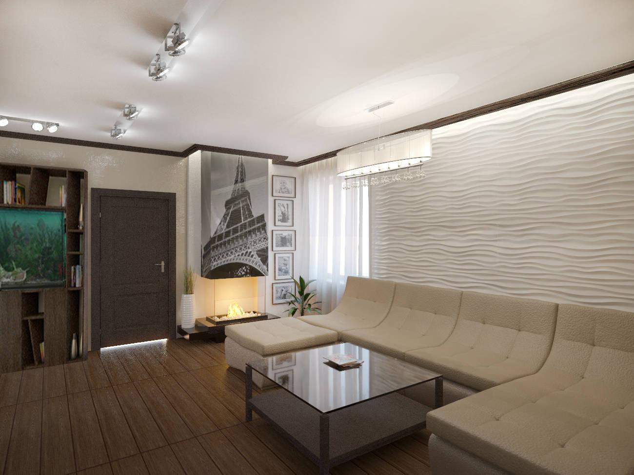 Квартира для молодой семьи, 92 м2