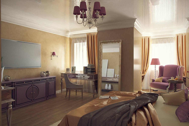 Спальня аппартаменты
