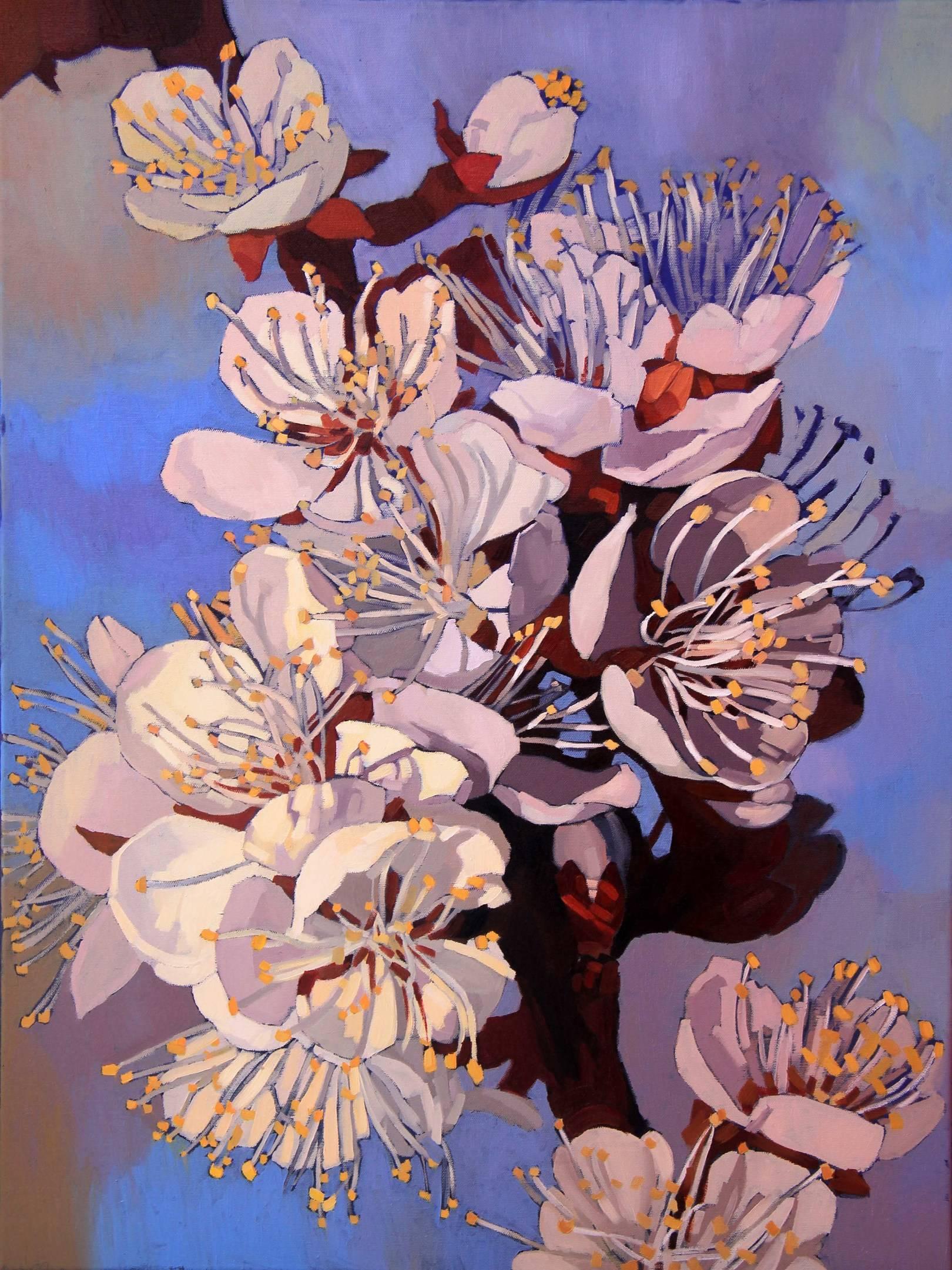 Цветущая весна, 80х60см., холст, масло, 2014