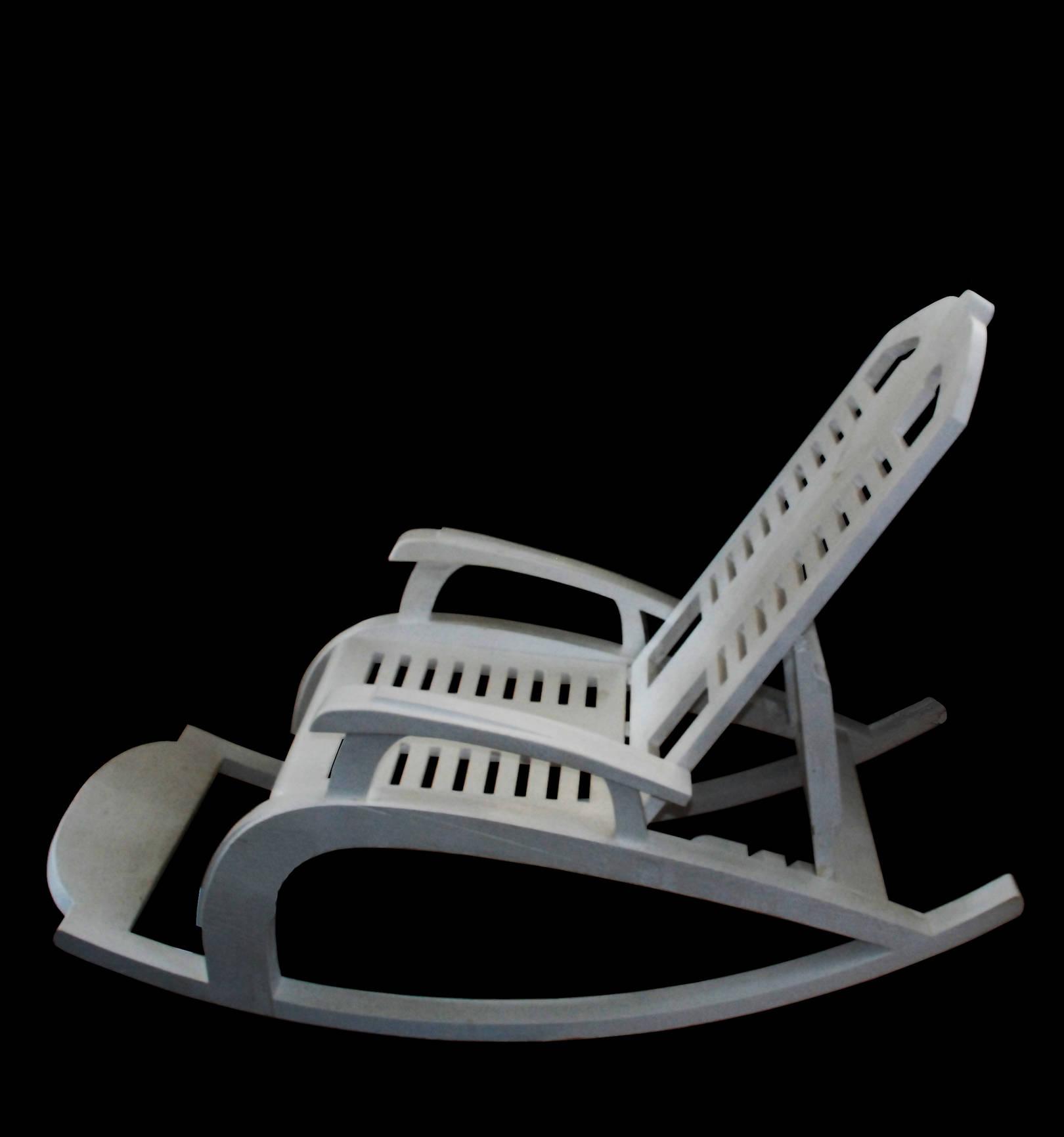 кресло -качалка. сосна емаль 1300 мм.