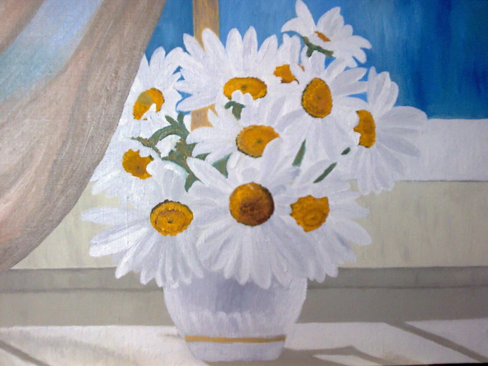 Изысканная простотаElegant simplicityх/мoil on canvas50х40