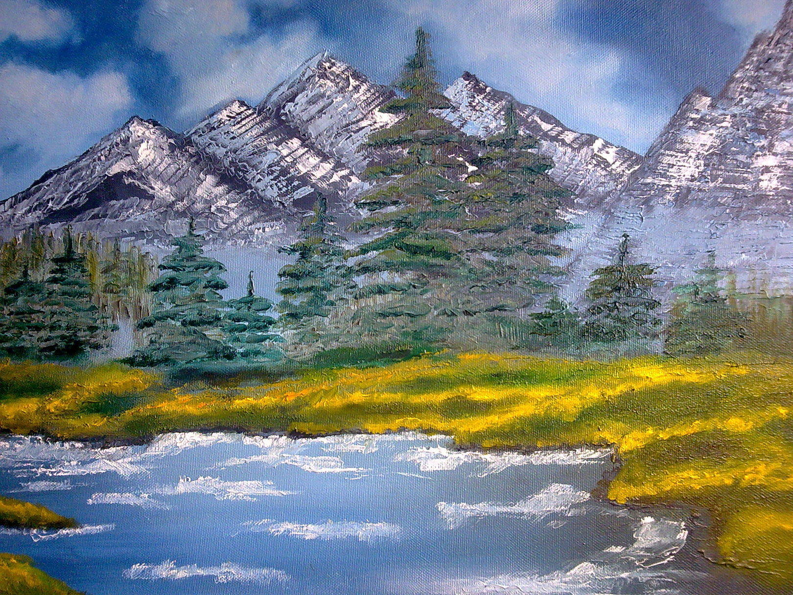 ПейзажLandscapeх/мoil on canvas40х60
