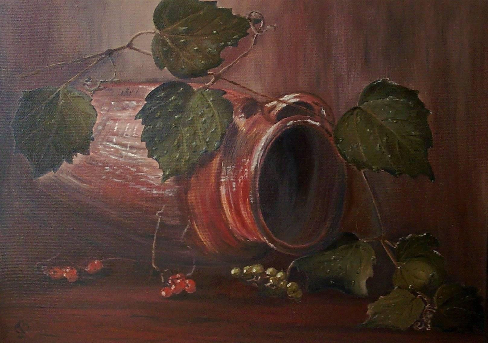 КувшинJarх/мoil on canvas25х35
