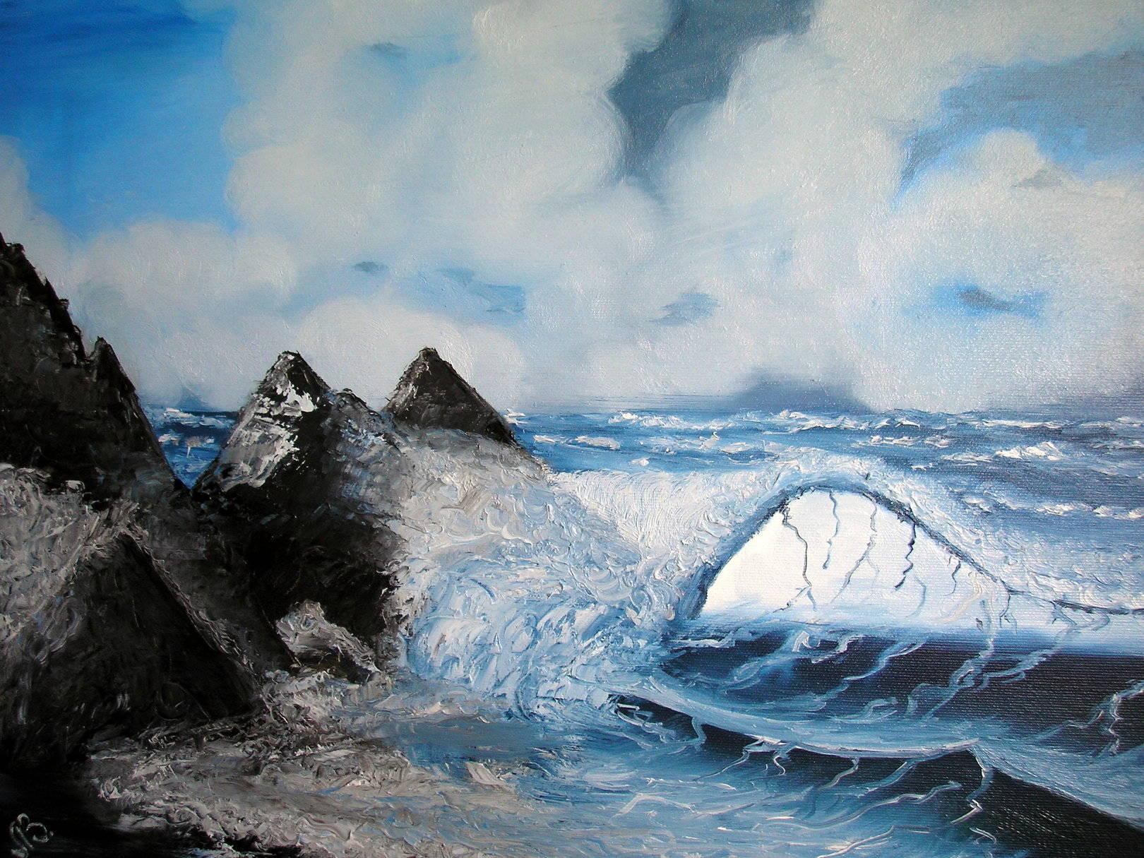 ВолнаWaveх/мoil on canvas50х40