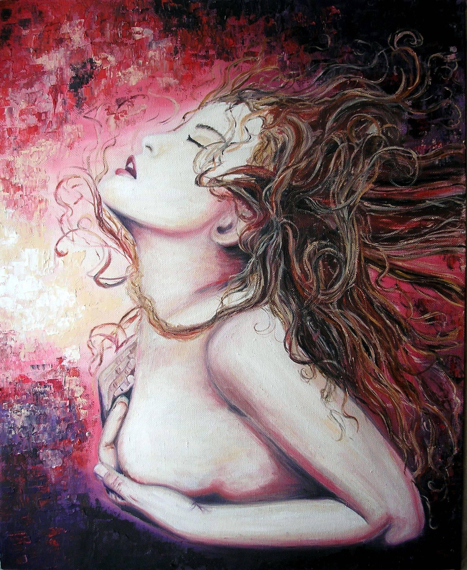 ЭкстазEcstasyх/мoil on canvas45х55