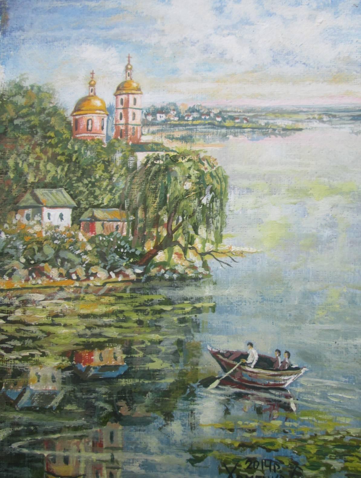 Река Рось,город Белая Церковь.