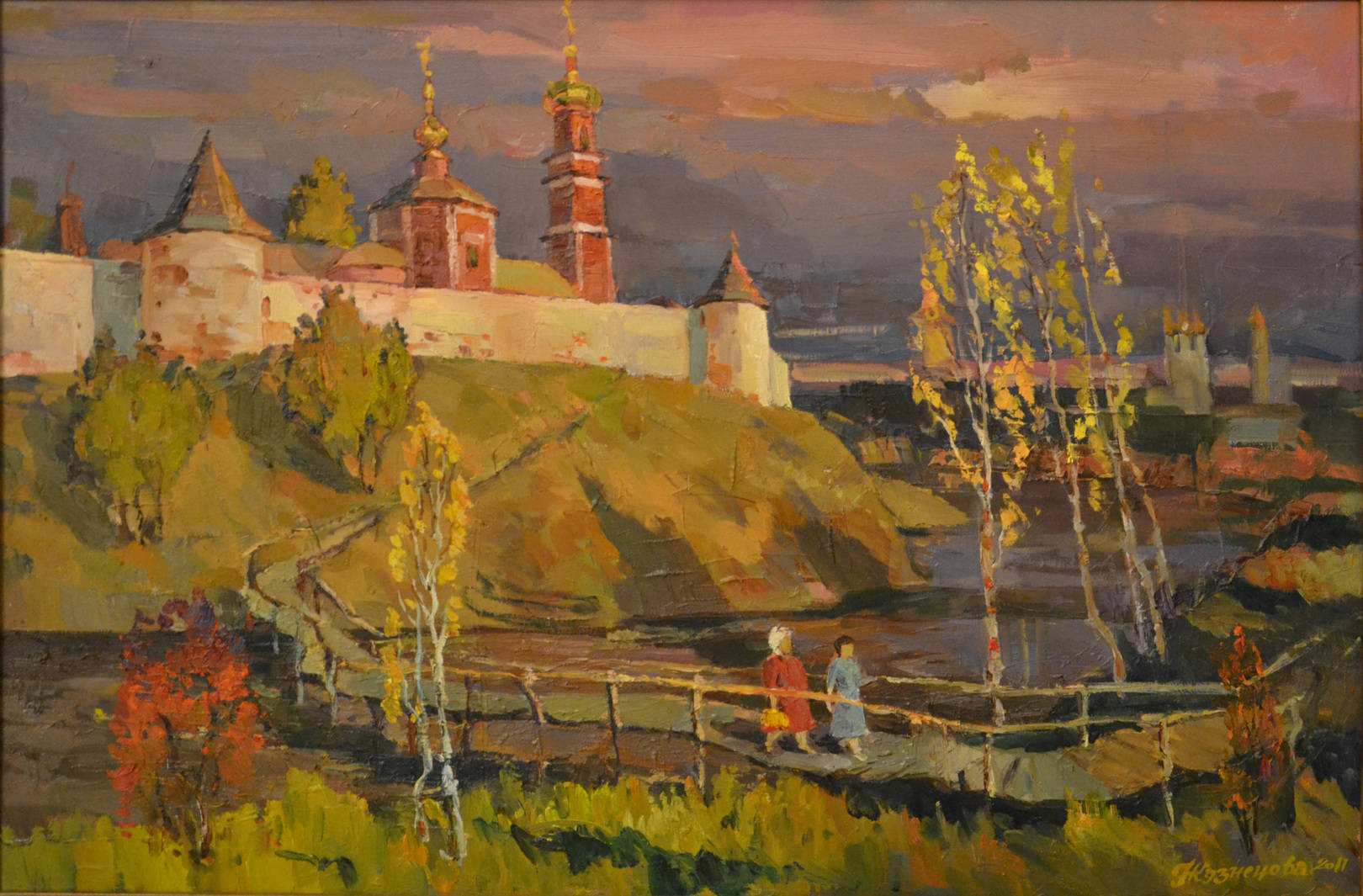 Окрестности Суздаля, 2011 г., 80х65, х.м.