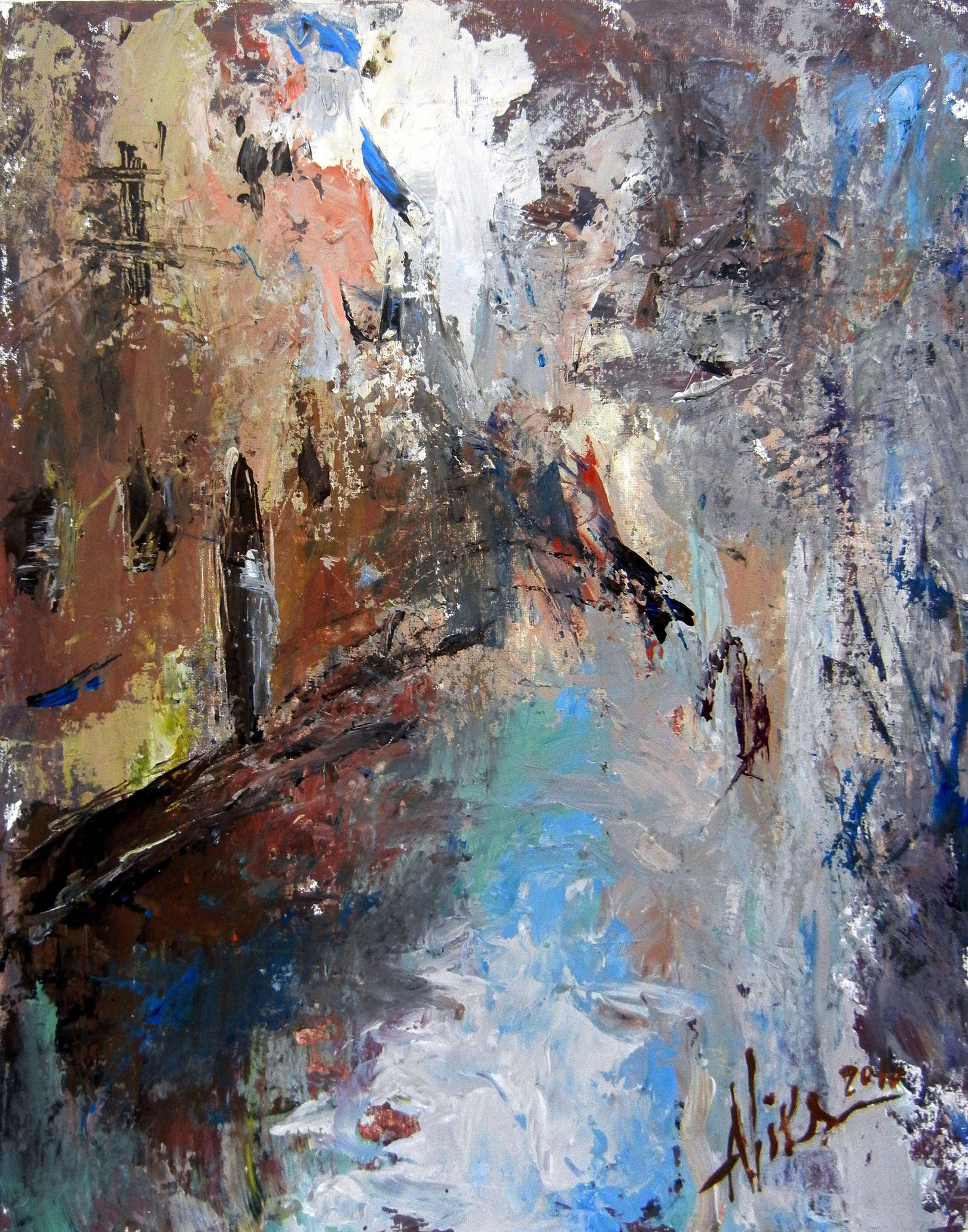 Alla Viksne, Venice oil on canvas2010, 22x18