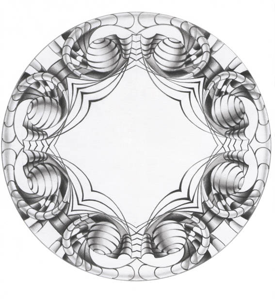Ornament in modern style