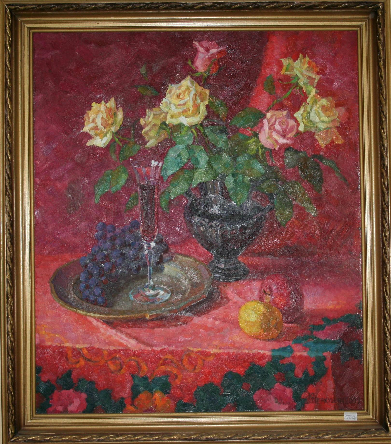 Розы и вино